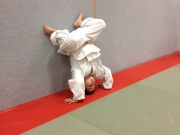 Kampfsport: Mein Sohn stellt sogar beim Sport alles auf den Kopf! ;-)