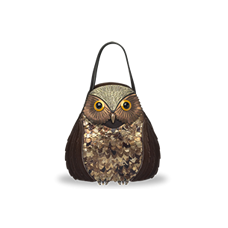 Wundervolle Eulen-Handtasche von DaWanda