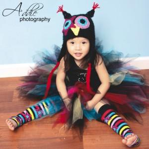 Punky Owl - Ein Foto-Session-Outfit von Kirras Boutique