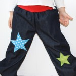 Jeans mit bequemem Bündchen - toben erwünscht!