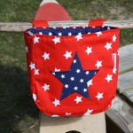Zum liebhaben: Laufrad-Tasche mit Sternen
