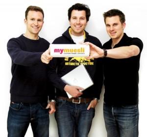 Die Gründer von Mymüsli sind Freunde