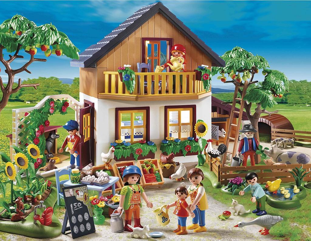 Playmobil Tiere Und Bauernhof Land Und Kindde