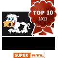 Platz 3 bei der Wahl zur schönsten Familien-Website 2011 für Land-und-Kind.de