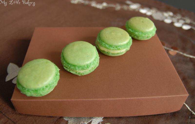 Macarons sind Highlights sowohl im Geschmack, als auch in der Optik