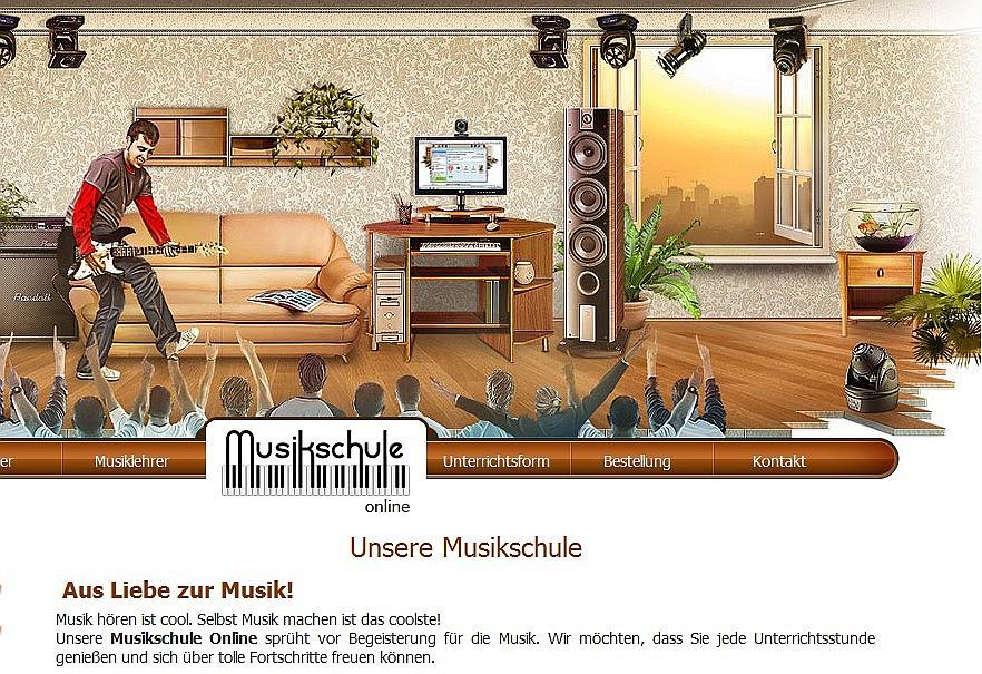 Ein interessantes Angebot - Die Musikschule Online