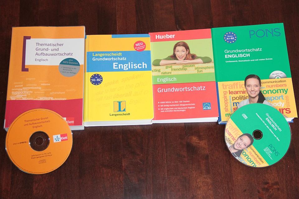 Grundwortschatz Englisch: Pons, Langenscheidt, Klett, Hueber im Test