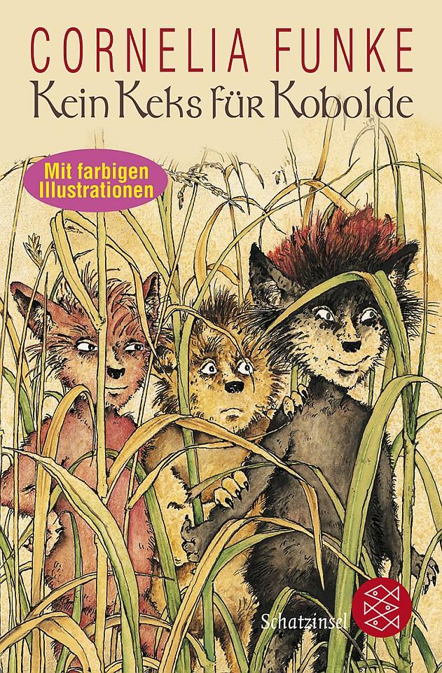 Cornelia Funke: Kein Keks für Kobolde (Buchcover)