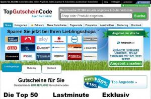 Screenshot_Startseite_TopGutscheinCode.de