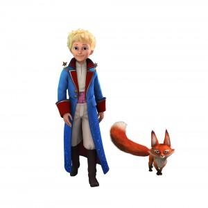 Der kleine Prinz und sein Fuchs. Aus der Animationsserie. Bild: WDR/ARD