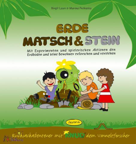 Erde, Matsch & Stein-Aktionsbuch vom Ökotopia Verlag