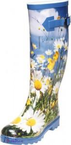 Damengummistiefel in tollem Design mit flexibler Schaftweite - Lekimo