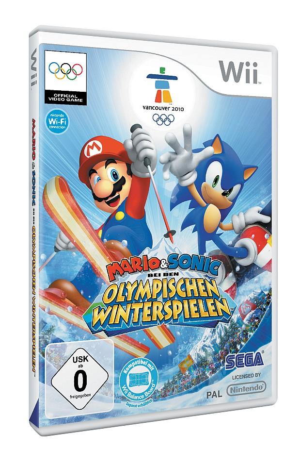 Mario & Sonic bei den Olympischen Winterspielen: Packshot