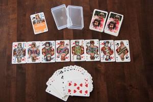 Individualisiertes Doppelkopf-Blatt - Spielkarten mit Fotomotiven