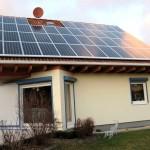 So siehts dann fertig aus: Die eigene Solaranlage auf dem Hausdach
