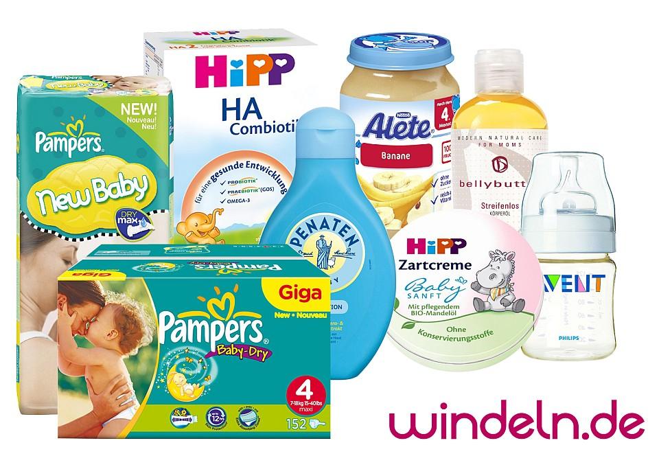 Produkte von Windeln.de - Alles rund ums Baby