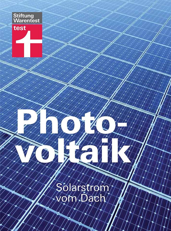 Buch: Photovoltaik - Solarstrom vom Dach (Quelle: Stiftung Warentest)