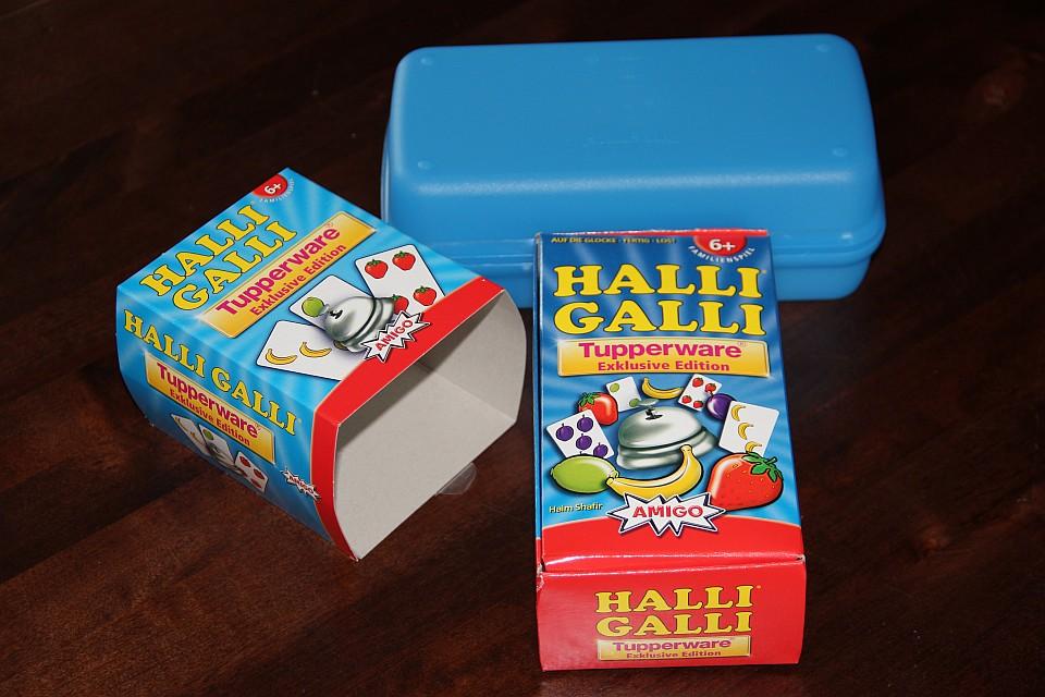 Die Halli Galli Tupperware®-Edition: Inhalt des Kartenspiels