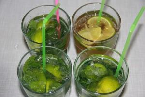Virgin Caipirinha und Virgin Mojito: alkoholfreie Kinder-Cocktails