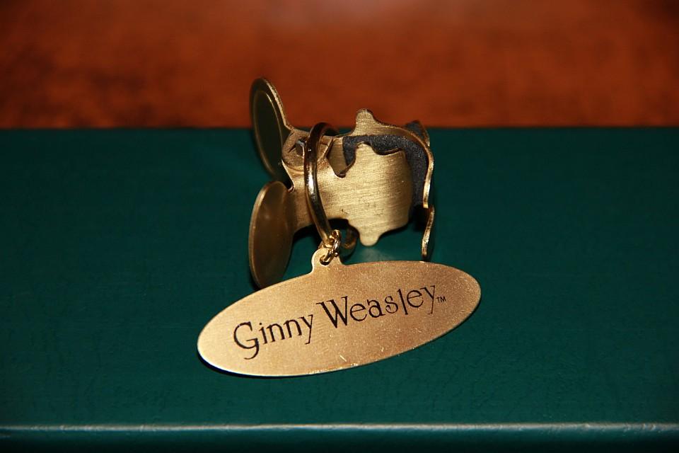 Harry Potter-Zauberstab von Elbenwald.de: Ginny Weasley, Klammer mit Namensschild