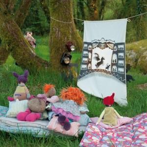 Gibts bei PomPapillon: Schattenspielfiguren von Moulin Roty