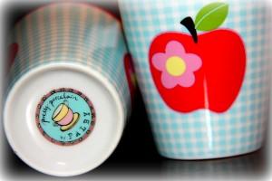 Apfelbecher von Falby - gibts bei Colours and Friends