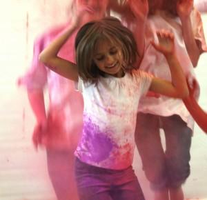 Powderpaint Shooting - Holi Festival Shooting - Mädchen