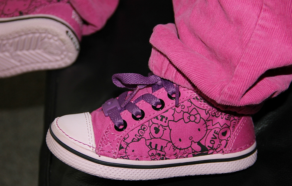 Crocs Kitty-Sneaker in pink