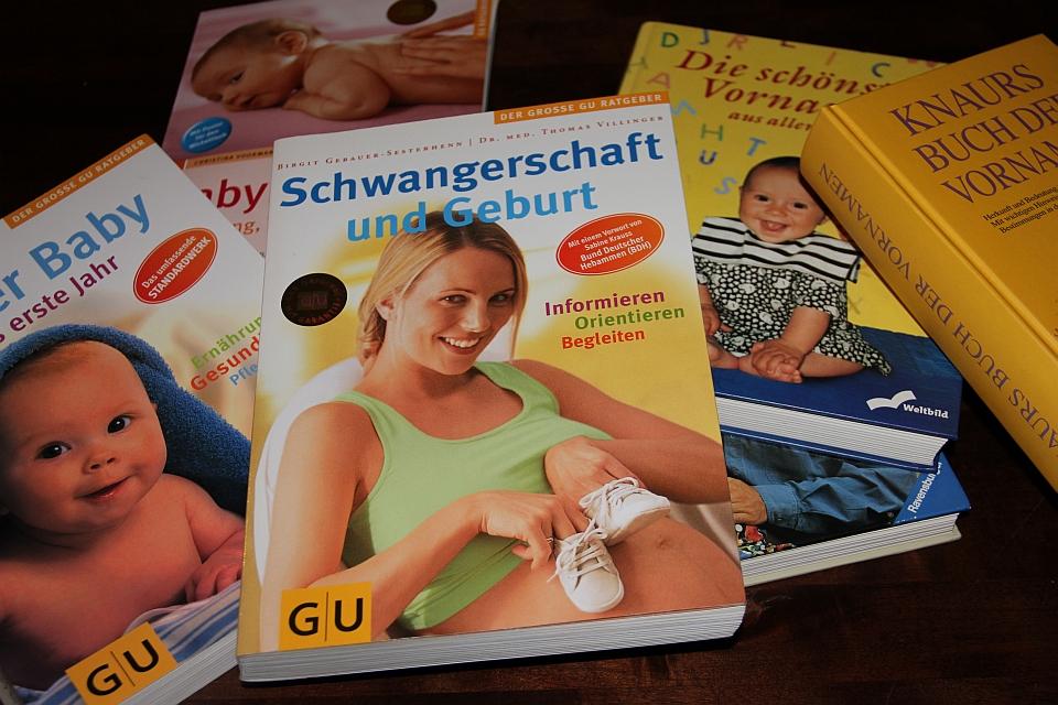 Literatur rund um Schwangerschaft und Geburt