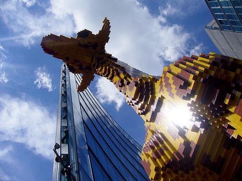A Giraffe in Berlin von vauvau