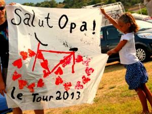 Le Tour 2013_Frankreich_Mont Ventoux_Land und Kind