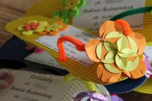 kindergeburtstag einladungen f r die hawaii party diy land und. Black Bedroom Furniture Sets. Home Design Ideas