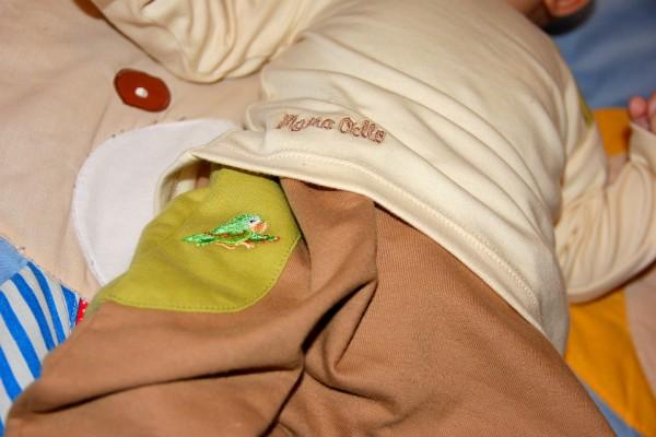 Mama Ocllo Bio-Kleidung für Kinder mit niedlichen Details