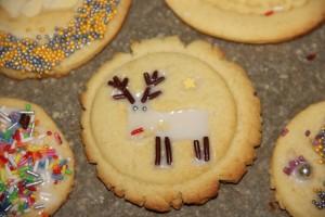 Rentier-Keks ganz einfach gemacht mit Keksstempeln