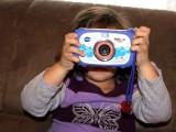 Auch die Jüngste kann die Kamera bedienen