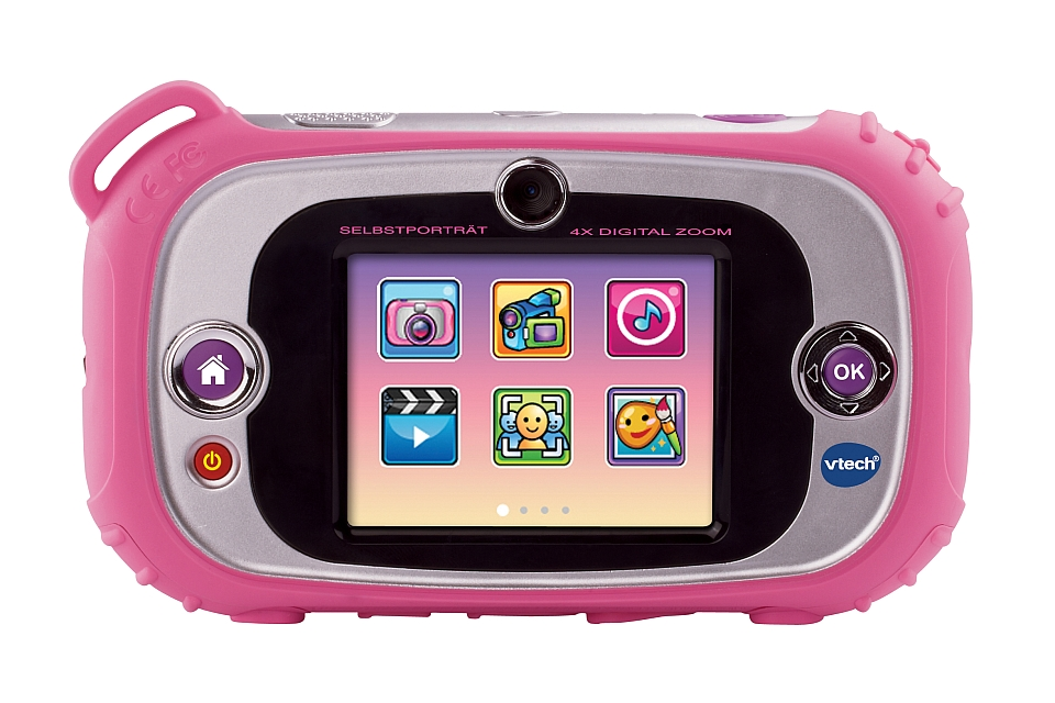 VTech Kidizoom Touch pink: Rückansicht (Herstellerbild)