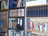 Hier ein Einblick in unsere Bibliothek