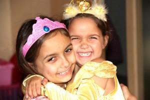 Prinzessin, Belle, Kostü, Verkleidung, Kindergeburtstag