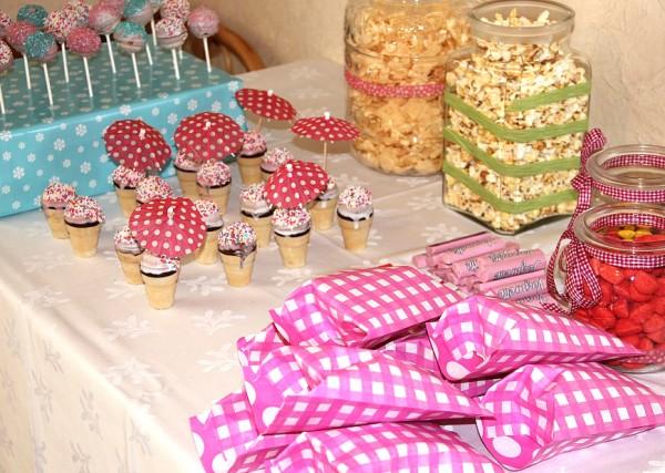 Cakepops, Kindergeburtstag, Party-Buffet