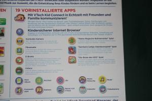 Storio MAX 7 von VTech: Vorinstallierte Apps, Foto: Land-und-Kind.de